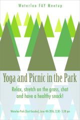 Yoga and Picnic in the Park